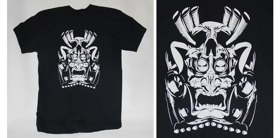 check out our custom screen printing work tshirt
